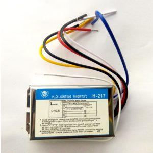 3 Way Remote Switch, Wireless RF Radio Remote Control Switch Light / Fan / RF