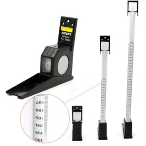 Height Measuring Tape / Scale / Stature Meter (200cm / 78inch) Wall Mounted Tape Scale 2 M