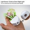 LED Mushroom Colorful Night Light Romantic With Light Dependent Resistor (LDR), Night Lamp 0.2 Watt, Lamp Home Illumination With Indian Pin