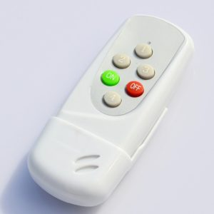 4 Ways Remote Switch PVC, Wireless Remote Control Switch For Light, Digital Remote Control