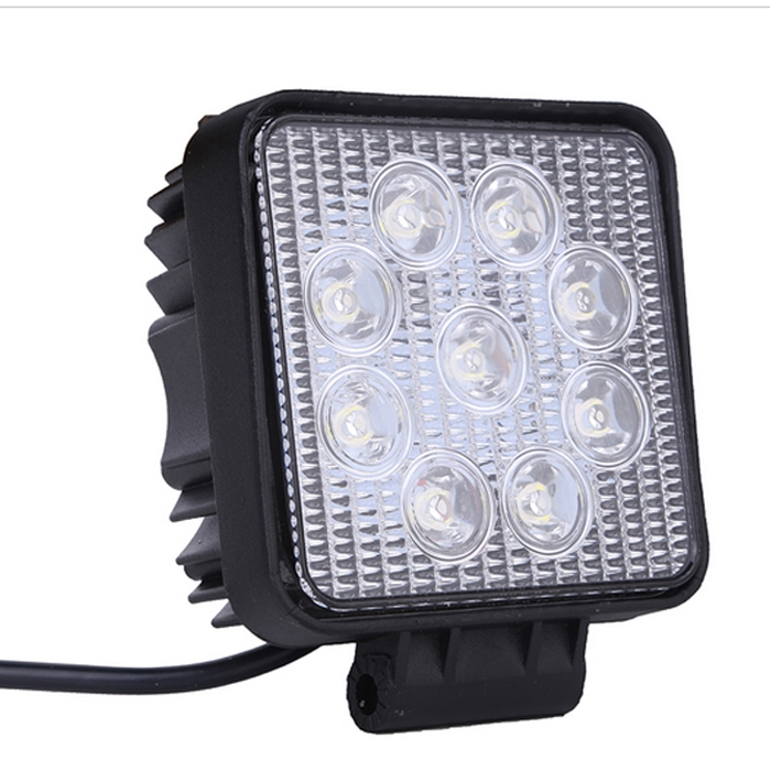 9 cree led 27 w square led off road flood light drl fog lamp for 9 cree led 27 w square led off roadflood light drl fog lamp aloadofball Images