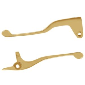 Decorative Super Finishing Pure Brass Brake & Clutch Lever for Royal Enfield 350/ 500 Bullet