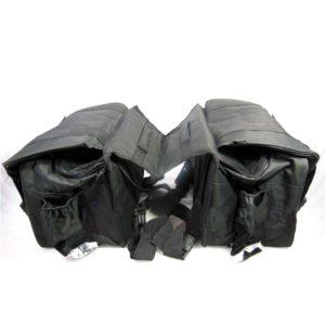 Heavy Duty Customized Throwover Saddle Bag, Shifter Bag for Royal Enfield Harley BSA Norton