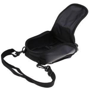 Bike Motorcycle Bike Magnetic Oil Tank Bag Storage Organizer Phone Holder Pocket Pouch, Also Can be Use As Shoulder Sling Bag/ Carry Bag