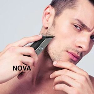 NOVA Trimmer NS - 216 Professional Rechargeable Hair Trimmer Cordless Clipper, Razor Shaving Machine (NS-216)