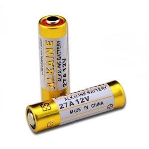 Original GP 12V Alkaline Battery 27A High Voltage Battery Cell for Car Remote/ Remote Control Switch Battery, 12V 27A Battery