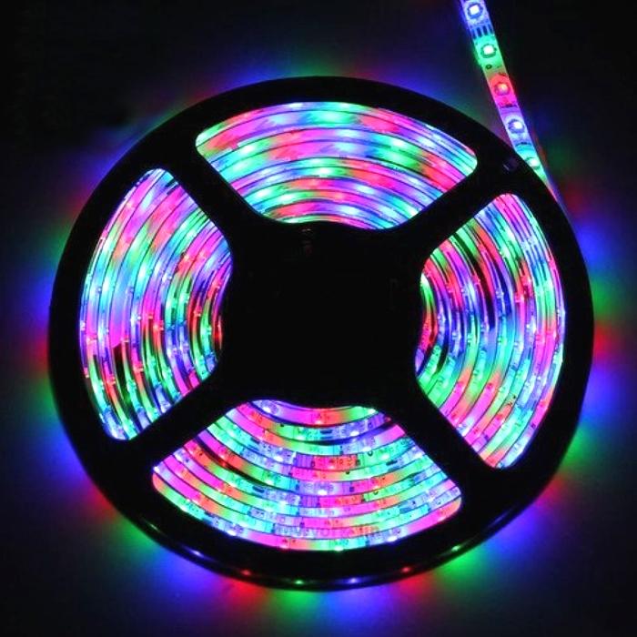 Flexible Led Light Strip 3528 Smd 12 Volt Quality Lighting: Multi Color 5 Meter SMD 3528 LED Flexible Strip Tape 300
