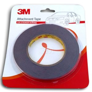 Original 3M™ Double Sided Adhesive Tape Roll, Waterproof Super Strong Bonding Attachment Tape For Car/ Bike/ Automotive/ Home