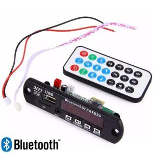 Bluetooth MP3 Decoder Module With Dancing Display, FM, USB, AUX, SD Card, MP3 Decoder Module With Fully Remote Control - VTF-108 BT
