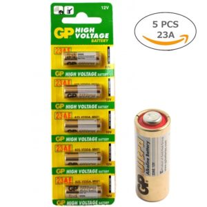 Original GP 12V Alkaline Battery 23A High Voltage Battery Cell For Car Remote/ Remote Control Switch Battery, 12V 23A Battery