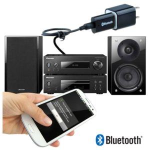 PT-810 Bluetooth A2DP V1.2 Audio Music Receiver 3.5mm AUX For Speaker, USB Powered