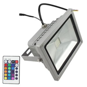 Waterproof RGB LED Flood Light AC 110-264V Spotlight For Indoor & Outdoor Use
