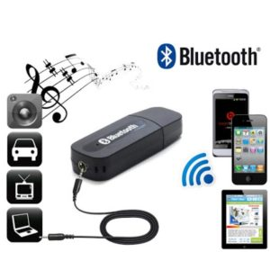 USB Bluetooth Audio Music Receiver 3.5 mm AUX Adapter Dongle For Speakers, Car, Home MP3