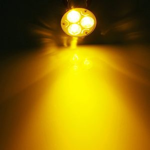 Warm White 3 Watt LED Spotlight Bulb, 220V AC, B22 Lamp Bulb, 3W LED Bulb for Home & Commercial Use