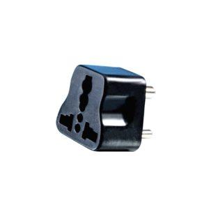 UK/ US/ EU/ AU International Universal Travel Plug Adapter to Indian 3 Pin Power Plug / Converter