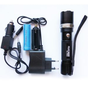 3 Mode CREE Rechargeable LED Waterproof Flashlight Flash Light Torch, BL-T8626