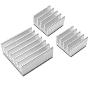 Heat Sink, Aluminum Base Plate for SMD, LED, Lamp Heat-Sink Radiator Cooling Fin for IC LED Power, DIY Projects