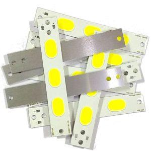 4 Volt COB LED SMD Diode, 10 Watt COB LED, Super Bright Cool White