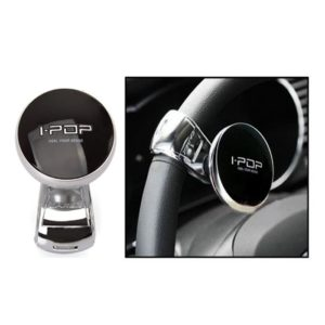 Car Power Steering Wheel Platinum Knob Spinner I-Pop Black